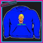 KEITH LEMON CARTOON BANG TIDY FUNNY HOODIE  5003
